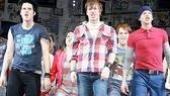 American Idiot Sound Check - Michael Esper - John Gallagher Jr - Stark Sands