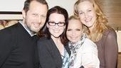 Burnett & Mullally at Promises, Promises – Rob Ashford – Megan Mullally – Kristin Chenoweth – Katie Finneran