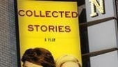 Collected Stories Opening Night – marquee