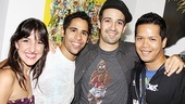 In the Heights Last Show in Los Angeles – Natalie Caruncho – Sandy Alvarez – Lin-Manuel Miranda – Daniel Cruz
