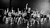 Billy Elliot Ballet Girls Open Call – b&w learning ballet combination
