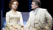 Bernadette Peters as Desiree Armfeldt and Stephen R. Buntrock as Fredrik Egerman in A Little Night Music.
