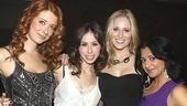 Bloody Bloody Andrew Jackson opening night – Nadia Quinn – Emily Young – Kate Cullen Roberts – Maria Elena Ramirez