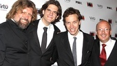 Bloody Bloody Andrew Jackson opening night – Oskar Eustis – Alex Timbers – Michael Friedman – Andrew Hamingson
