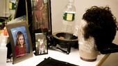 Day in the Life of Justin Guarini – wig stand