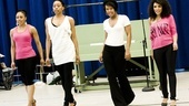 Baby It's You Rehearsal – Kyra Da Costa – Erica Ash – Christina Sajous – Crystal Starr Knighton (walking)