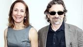 Motherf**ker Opening Night – Laurie Metcalf – Dennis Boutsikaris