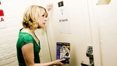 Day in the Life of Mary Faber – dressing room door