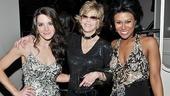 Baby It's You Opening Night – Kelli Barrett – Jane Fonda – Christina Sajous