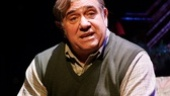 Dan Lauria as Jean Shepherd in A Christmas Story.