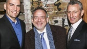 Misery - Opening - 11/15 - Lou Mirabal, Marc Shaiman and Adam Shankman