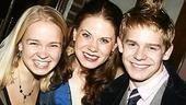 Photo Op - Les Miz opening - Maggie Keenan Bolger - Celia Keenan-Bolger - Andrew Keenan-Bolger