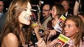 Photo Op - First Preview of Grease - Laura Osnes (signs program)