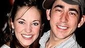 Photo Op - Grease CD signing - Laura Osnes - Max Crumm
