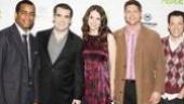 Shrek NYC Meet and Greet - Sutton Foster - Daniel Breaker - Brian d'Arcy James - Christopher Sieber - John Tartaglia