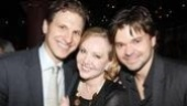 Happiness Opening Night – Sebastian Arcelus – Susan Stroman – Hunter Foster