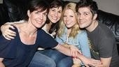 9 to 5 Original Cast Recording Session – Allison Janney – Stephanie J. Block – Megan Hilty – Steven Oremus