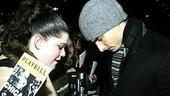 Kevin Richardson 1st Chicago Perf - Kevin Richardson with fan