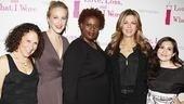 November 2009 cast of Love, Loss – Rhea Perlman – Katie Finneran – Capathia Jenkins – Rita Wilson – Lucy DeVito