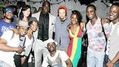 Jason Mraz at Fela – James Ihedigdo – Jason Mraz – cast