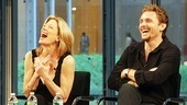 Next to Normal Times Talks Event – Marin Mazzie – Jason Danieley (laughing)