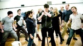 Photo Op: Bloody Bloody Andrew Jackson in Rehearsal – Benjamin Walker and cast