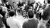Photo Op: Bloody Bloody Andrew Jackson in Rehearsal – Justin Levine  - Cast