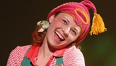 Hayley Podschun as Strawberry in Freckleface Strawberry.