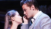 Sarah Amengual as Maria and Matthew Hydzik as Tony in West Side Story.