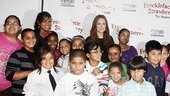 Freckleface Strawberry Opening Night – Julianne Moore – Save the Children kids