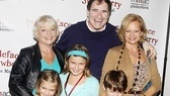 Freckleface Strawberry Opening Night – Richard Kind family