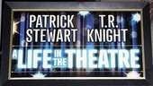 A Life in the Theatre Opening Night – Marquee