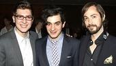 Bloody Bloody Andrew Jackson opening night – Charlie Rosen – Justin Levine – Kevin Garcia