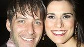 Bloody Bloody Andrew Jackson opening night – David Cornue – Milena Govich