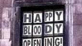 Bloody Bloody Andrew Jackson opening night – David Hyde Pierce window