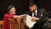 Vanessa Redgrave as Daisy Werthan and James Earl Jones as Hoke Colburn in Driving Miss Daisy.