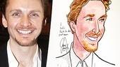 Jason Danieley Sardi's Caricature – Jason Danieley (smiling)