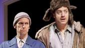 Denis O'Hare as Elling and Brendan Fraser as Kjell in Elling.