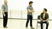 Priscilla rehearsal – Tony Sheldon – Nick Adams – Will Swenson  5