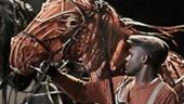 Jude Sandy and Prentice Onayemi in War Horse.