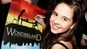 Opening Night of Wonderland – Carly Rose Sonenclar