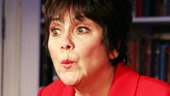 Joyce DeWitt as Miss Abigail in Miss Abigail's Guide to Dating, Mating and Marriage.