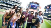 Hair Cast at Mets Game – group shot field
