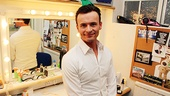 Day in Life of London Jersey Boys – Jon Lee (dressing table)