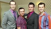 Day in Life of London Jersey Boys – Eugene McCoy – Jon Lee – Jon Boydon – Matthew Wycliffe
