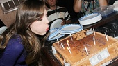 <i>Bonnie & Clyde</I> Birthday Pizza Party – Laura Osnes
