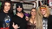 Rock of Ages – Criss Angel Visit - Dan Domenech – Criss Angel – Michele Mais– Jeremy Woodard