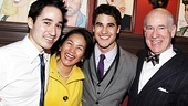 How to Succeed – Darren Criss Opening – Charles 'Chuck' Criss – Cerina Criss - Darren Criss – Charles William Criss