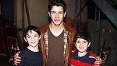 Newsies - Nick Jonas Visit – Matthew Schecter - Nick Jonas – Lewis Grosso