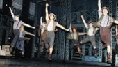 Newsies – Opening Night – Mike Faist – Ryan Steele - Garett Hawe - Alex Wong – Aaron J. Albano - Andy Richardson